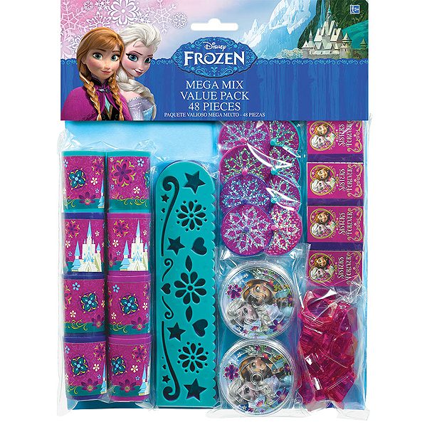 FROZEN MEGA MIX FAVOR PACK 48/PC (288/CS PARTY SUPPLIES