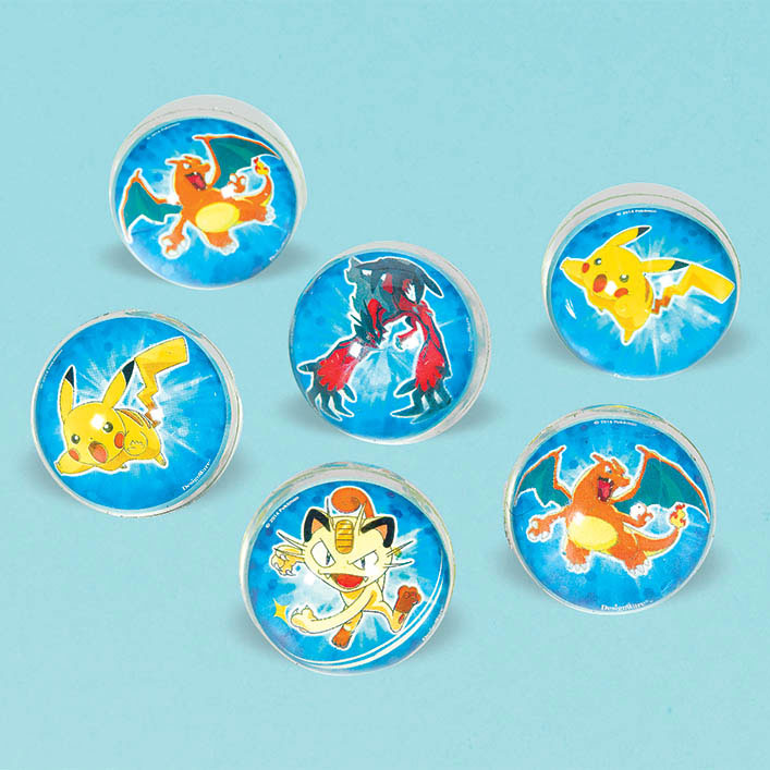 DISCONTINUED PIKACHU & FRND BALL FAVR PARTY SUPPLIES