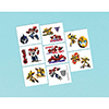 TRANSFORMERS TATTOOS PARTY SUPPLIES