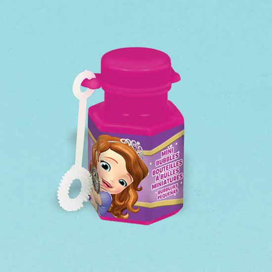 DISCONTINUED SOFIA THE FIRST MINI BUBBLE PARTY SUPPLIES