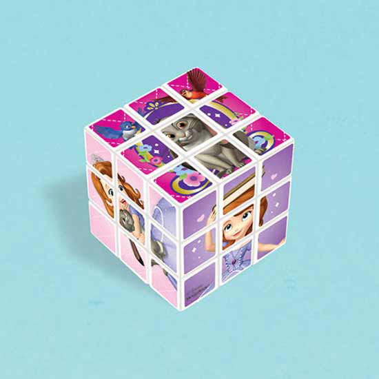 SOFIA THE FIRST PUZZLE CUBE PARTY SUPPLIES