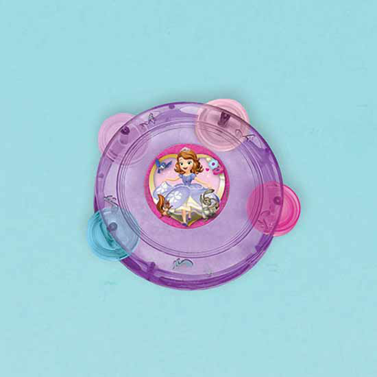 SOFIA THE FIRST TAMBOURINE FAVOR PARTY SUPPLIES
