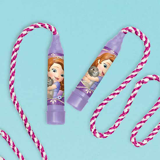 DISCONTINUED SOFIA THE FIRST JUMP ROPE PARTY SUPPLIES