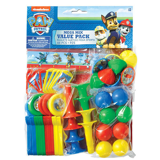 PAW PATROL VALUE PACK FAVORS PARTY SUPPLIES