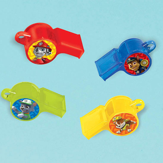 PAW PATROL WHISTLE FAVORS PARTY SUPPLIES