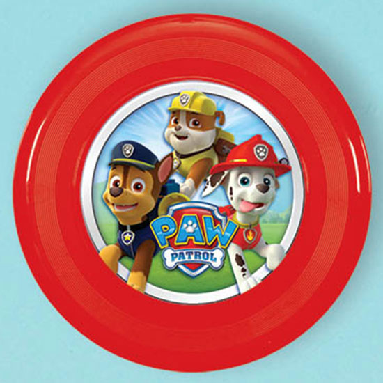 PAW PATROL FLYING DISC FAVOR PARTY SUPPLIES
