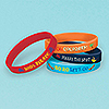 DISCONTINUED JAKE NL PIRATE RBR BRACELET PARTY SUPPLIES