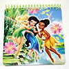 DISCONTINUED TINKERBELL NOTEPAD FAVOR PARTY SUPPLIES