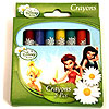 DISCONTINUED TINKERBELL CRAYON FAVORS PARTY SUPPLIES