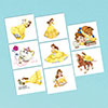 BEAUTY & THE BEAST TEMP TATTOOS PARTY SUPPLIES