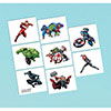 AVENGER EPIC TEMP TATTOOS PARTY SUPPLIES