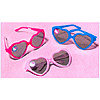 DISCONTINUED HELLO KITTY BLN HRT GLASSES PARTY SUPPLIES