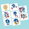 SONIC HEDGEHOG TEMP TATTOOS PARTY SUPPLIES