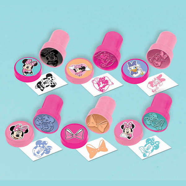 DISCONTINUED MINNIE MOUSE STAMPER FAVOR PARTY SUPPLIES