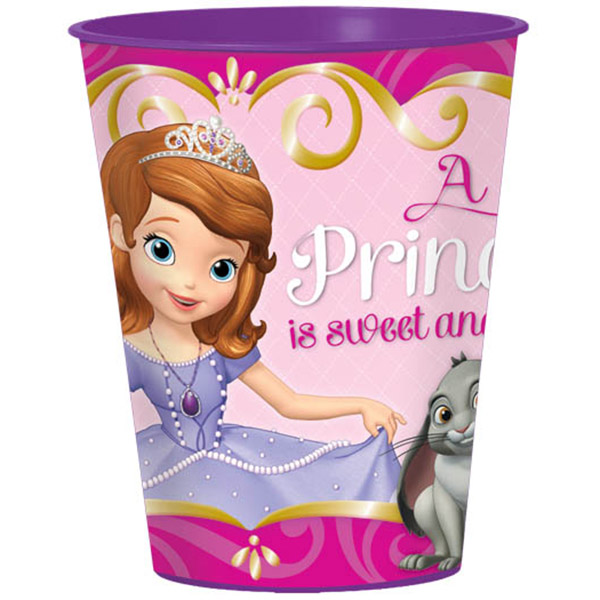 SOFIA THE FIRST SOUVENIR CUP PARTY SUPPLIES