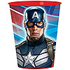 CAPTAIN AMERICA SOUVENIR CUP PARTY SUPPLIES