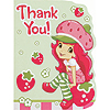 STRAWBERRY SC PARTY THANK YOU (48/CS) PARTY SUPPLIES