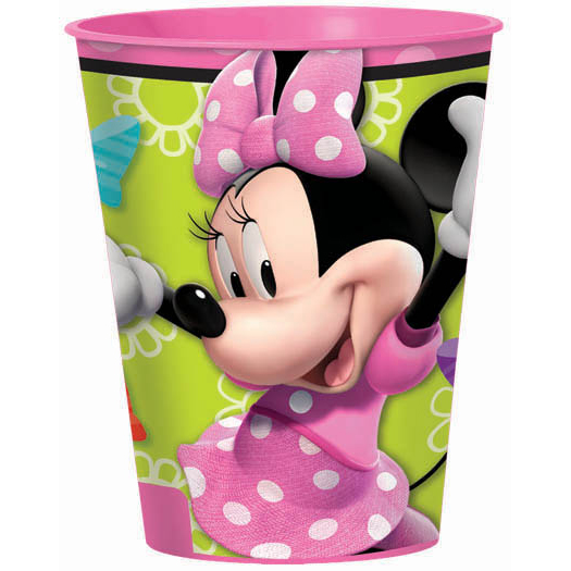 DISCONTINUED MINNIE MOUSE SOUVENIR CUP PARTY SUPPLIES