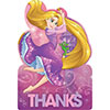 RAPUNZEL THANK YOU NOTE PARTY SUPPLIES