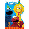 SESAME STREET THANK YOU NOTE PARTY SUPPLIES