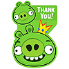 ANGRY BIRDS THANK YOU NOTES PARTY SUPPLIES