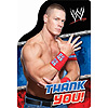 WWE THANK YOU NOTE PARTY SUPPLIES