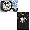 PITTSBURGH PENGUINS INVITE/THANK YOU PARTY SUPPLIES