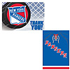NEW YORK RANGERS INVITE/THANK YOU PARTY SUPPLIES