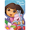 DORA THE EXPLORER THANK YOU NOTE (48/CS) PARTY SUPPLIES