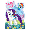 MY LITTLE PONY FRIEND THANK YOU (48/CS) PARTY SUPPLIES
