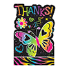 DISCONTINUED NEON BIRTHDAY THANK YOU PARTY SUPPLIES