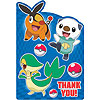 DISCONTINUED POKEMON THANK YOU NOTE PARTY SUPPLIES