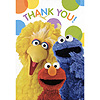 SESAME STREET PARTY THANK YOU NOTE PARTY SUPPLIES