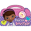 DOC MCSTUFFINS POSTCARD INVITATIONS AND PARTY SUPPLIES