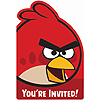ANGRY BIRDS INVITATIONS PARTY SUPPLIES