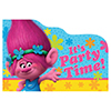 TROLLS POSTCARD INVITATIONS PARTY SUPPLIES