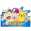 DISCONTINUED PIKACHU & FRND INVITE PARTY SUPPLIES