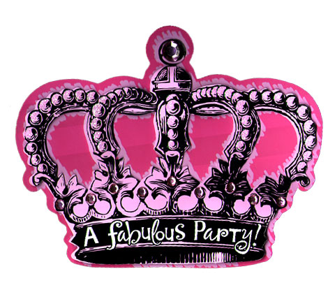Click for larger picture of DISCONTINUED BIRTHDAY FABULOUS INVITE PARTY SUPPLIES