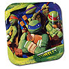 TEENAGE MUTANT TURTLES DESSERT PLATES PARTY SUPPLIES