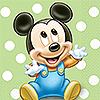 MICKEY 1ST BIRTHDAY BEVERAGE NAPKIN PARTY SUPPLIES