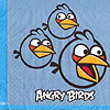 ANGRY BIRDS BEVERAGE NAPKINS PARTY SUPPLIES