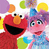 DISCONTINUED SESAME STREET BEV NAPKIN PARTY SUPPLIES