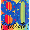 A YEAR TO CELEBRATE 80TH BEVERAGE NAPKIN PARTY SUPPLIES