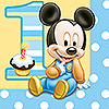 MICKEY 1ST BIRTHDAY LUNCHEON NAPKIN PARTY SUPPLIES