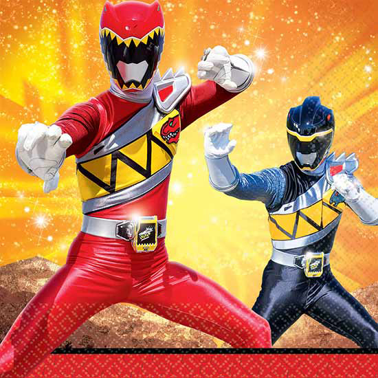 BULK POWER RANGERS DINO CHARGE