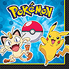 DISCONTINUED PIKACHU & FRND LUNCH NAPKIN PARTY SUPPLIES