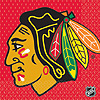 CHICAGO BLACKHAWKS LUNCHEON NAPKIN PARTY SUPPLIES