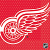 DETROIT RED WINGS LUNCHEON NAPKIN PARTY SUPPLIES