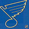 ST. LOUIS BLUES LUNCHEON NAPKIN PARTY SUPPLIES