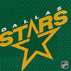 DISCONTINUED DALLAS STARS LUNCH NAPKIN PARTY SUPPLIES